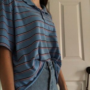 Tops - vintage cropped polo